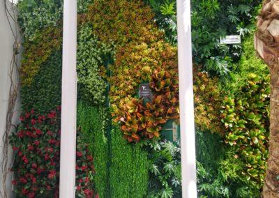 jardin vertical original artificial en ibiza